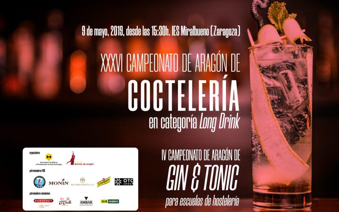Campeonatos de Coctelería de Aragón 2019